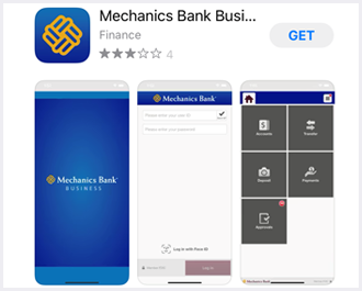 Business mobile banking app