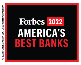 voted one of america's best banks in 2021 by forbes